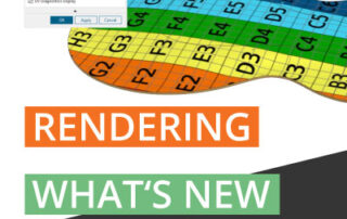 What's New NX 1980 rendering with UV map
